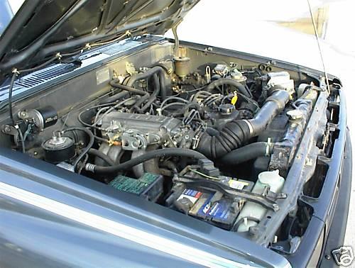 Pickup Automatic 1985 Toyota Engine