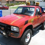 1983 Toyota pickup restored
