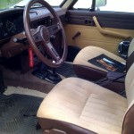 1983 Toyota 4x4 pickup restored interior