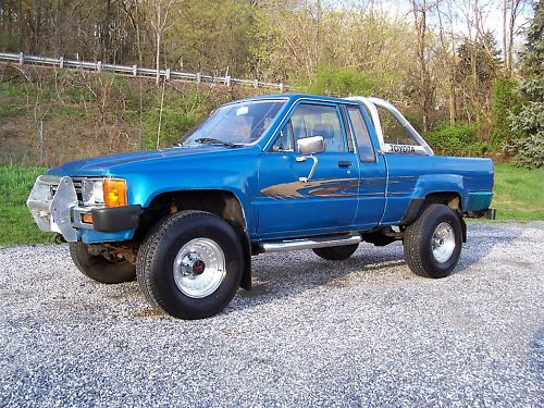 toyota 4 wheel drive trucks