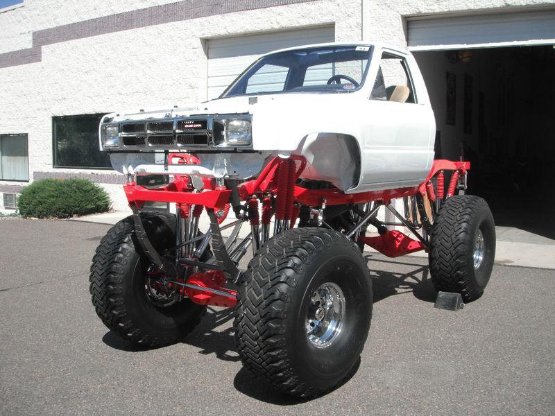 4 4 Toyota Trucks 84 Toyota Monster Truck For Sale On Ebay