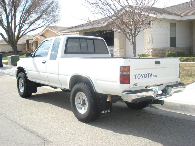 for sale 1993 toyota pickup 4x4 with 22re autos post. Black Bedroom Furniture Sets. Home Design Ideas