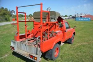 1980 Toyota Hilux firetruck