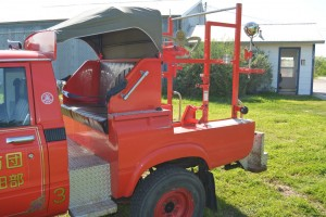 1980 Toyota Hilux firetruck seat